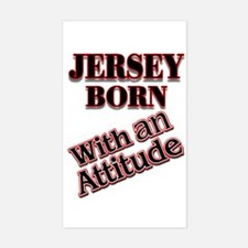 born in Jersey Decal