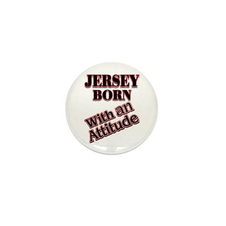 born in Jersey Mini Button (10 pack)