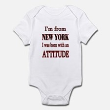 I'm From NY Infant Bodysuit
