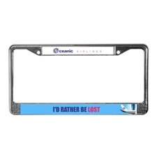 I'd Rather Be LOST License Plate Frame