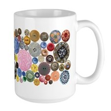 Button Mugs Coffee Mug