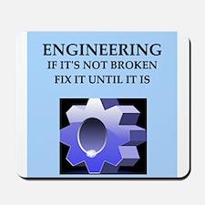 funny engineer joke Mousepad
