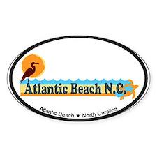 Atlantic Beach NC - Beach Design Decal