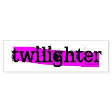 Twilighter Hot Pink by twibaby Bumper Sticker