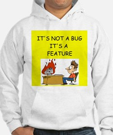 tech support geek joke Hoodie