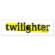 Twilighter Hot Yellow by twibaby Bumper Sticker