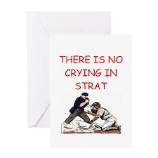 strat-o-matic baseball joke Greeting Card