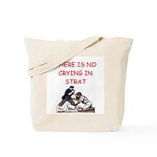 strat-o-matic baseball joke Tote Bag