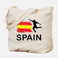 Spain Football Tote Bag