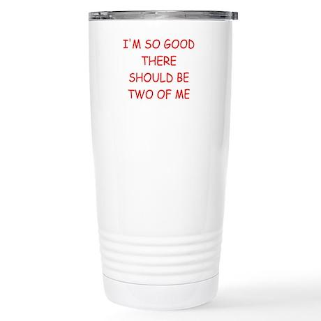 i am great Stainless Steel Travel Mug
