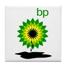 BP Oil... Puddle Tile Coaster