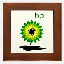 BP Oil... Puddle Framed Tile