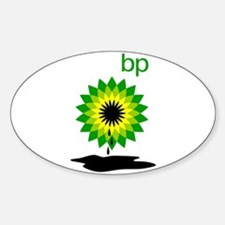 BP Oil... Puddle Sticker (Oval)