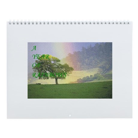 Year of Rainbows Wall Calendar