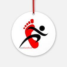 runbarefoot 2 Ornament (Round)