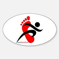 runbarefoot 2 Decal