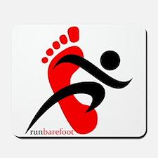 runbarefoot 2 Mousepad