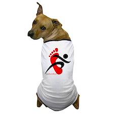 runbarefoot 2 Dog T-Shirt