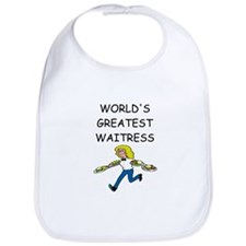 world's greatest waitress Bib
