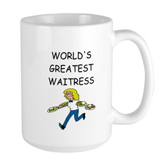 world's greatest waitress Mug