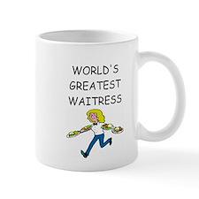 world's greatest waitress Mug