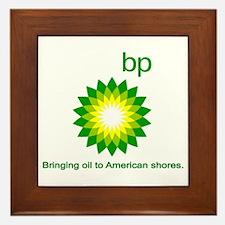 BP, Bringing Oil... Framed Tile