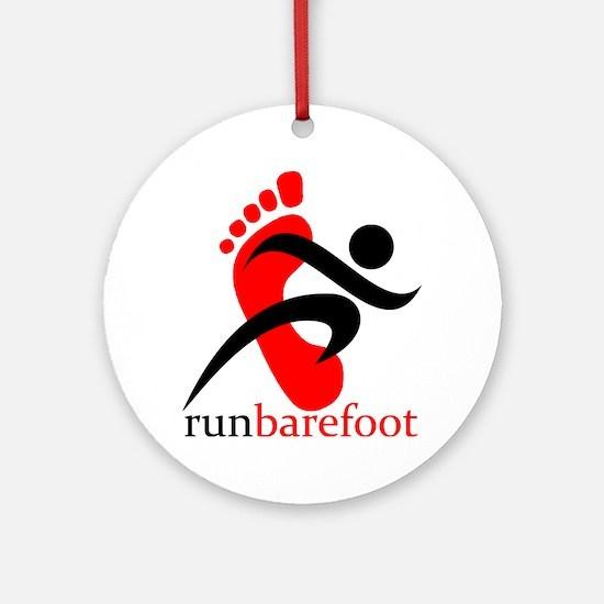 runbarefoot Ornament (Round)