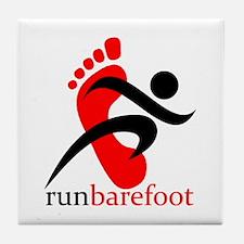runbarefoot Tile Coaster