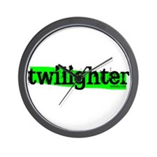 Highlight Twilighter by Twibaby Wall Clock
