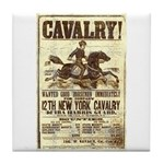12th New York Cavalry Tile Coaster
