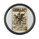 12th New York Cavalry Large Wall Clock