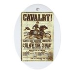 12th New York Cavalry Ornament (Oval)