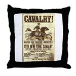 12th New York Cavalry Throw Pillow