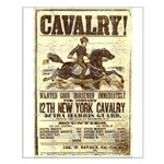 12th New York Cavalry Small Poster