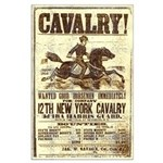 12th New York Cavalry Large Poster