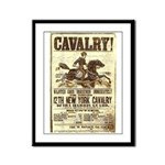 12th New York Cavalry Framed Panel Print
