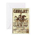 12th New York Cavalry Greeting Card