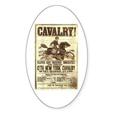 12th New York Cavalry Decal