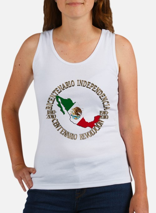 Cute Mexican independence day Women's Tank Top