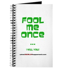 Fool Me Once Journal