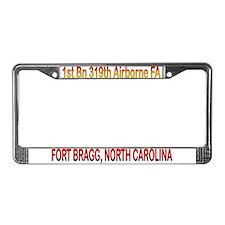 1st Bn 319th FA License Plate Frame