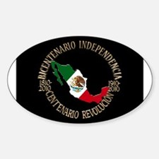 Mexican independence day Sticker (Oval)