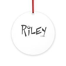 Riley Ornament (Round)