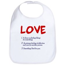 love defined Bib