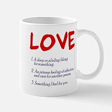 love defined Mug
