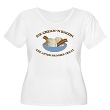 Ice Cream 'n Bacon after brin T-Shirt