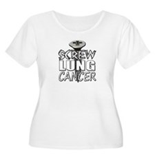 Screw Lung Cancer T-Shirt