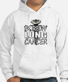 Screw Lung Cancer Hoodie