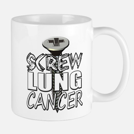 Screw Lung Cancer Mug