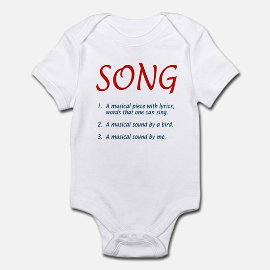 song defined Infant Bodysuit